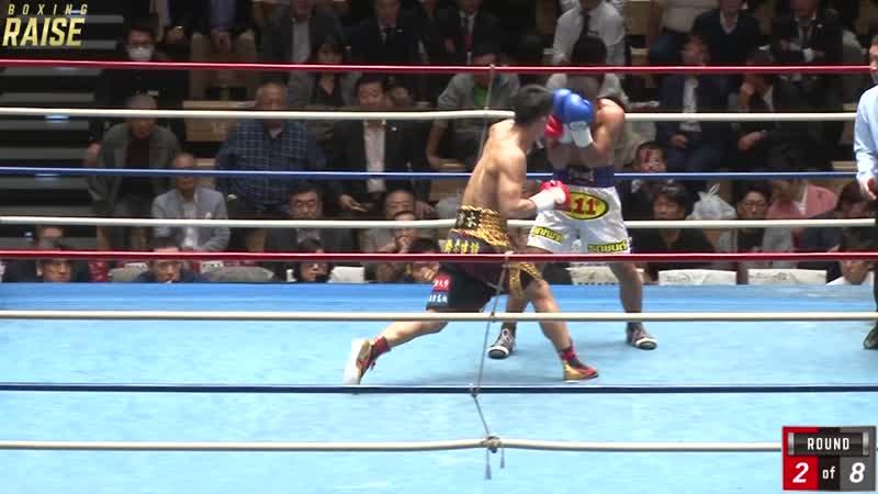 宇津木 秀 VS ソムポート・シーサ