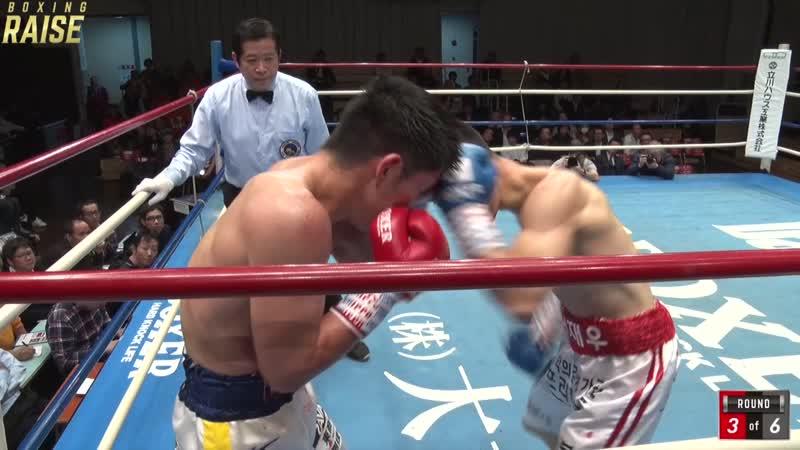 溜田 剛士 VS イ・ジェウ