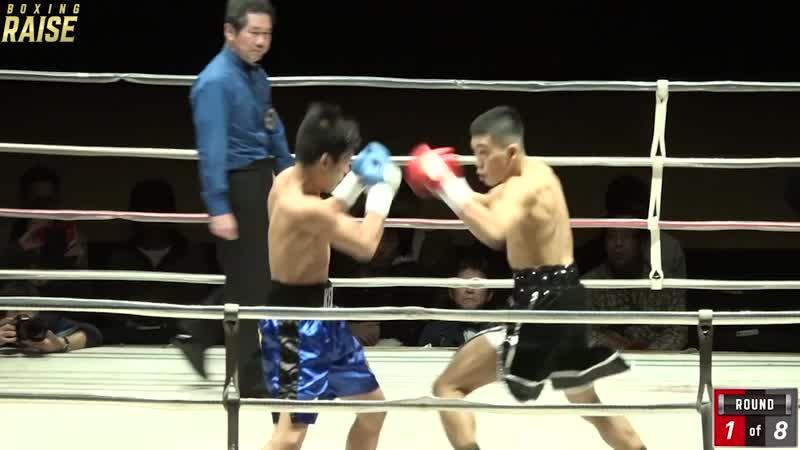 デカナルド闘凜生 VS ケン・ジョーダン