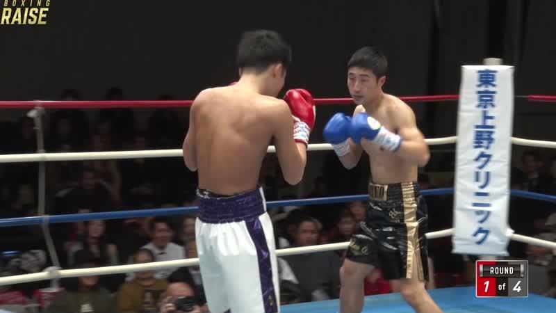 佐藤 諒太 VS オ・ロスティスラブ