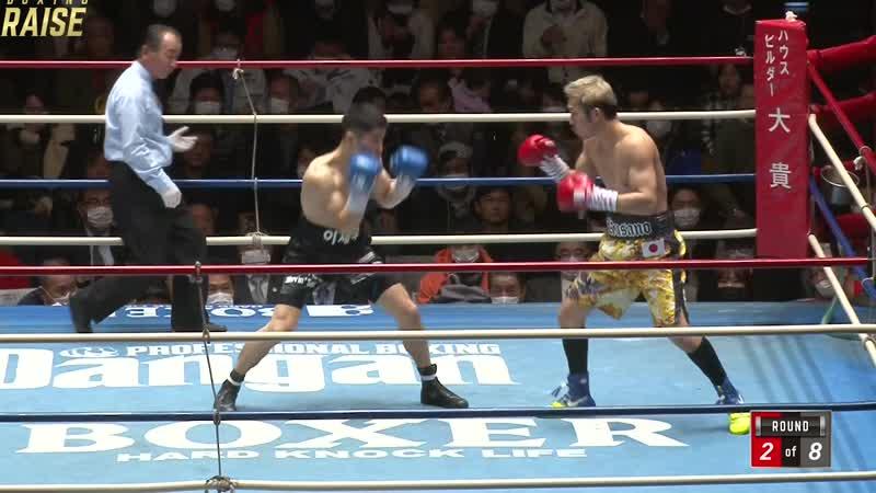 草野 慎悟 VS イ・ジェウ