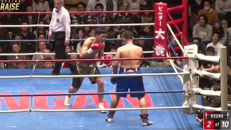 柴田 明雄 VS マイケル・スピード・シガーラキ
