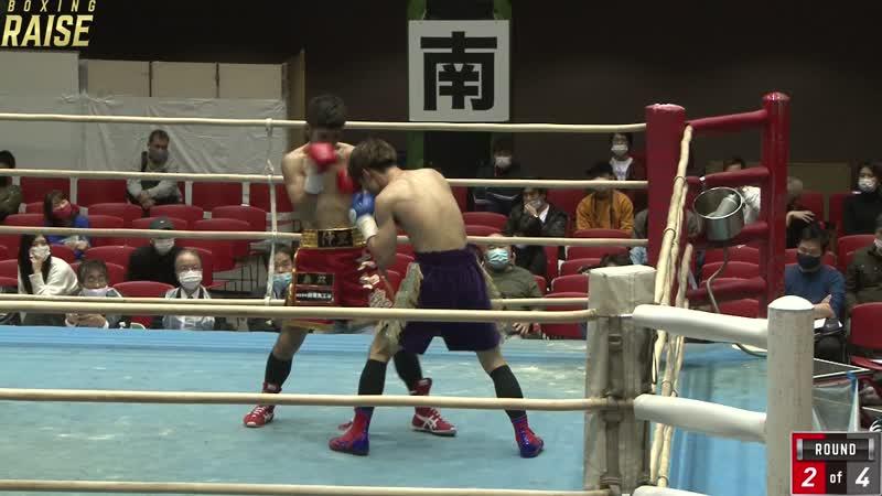 長岡 波輝 VS 小林 廉