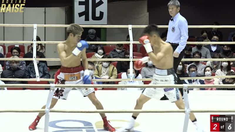 前田 稔輝 VS 大久保 海都