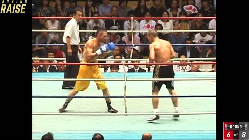 斉藤 幸伸丸 VS 加藤 大輔